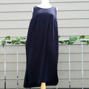 Viscose Jersey Scoop Neck Maxi Dress